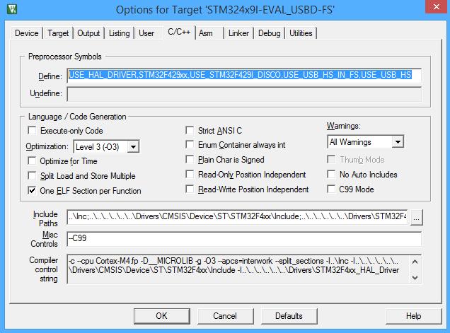 Mass Storage STM32F4  USB MSC  FAT  - mcu by